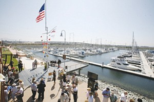 Port district and National City officials are seeking ways to build economic momentum following previously completed projects in the South Bay region, including the Pier 32 public marina.