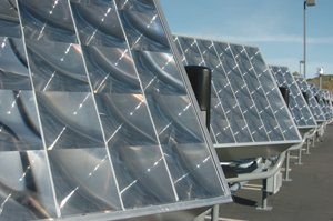 Energy Innovations of Poway, which manufactures the Sunflower highly concentrated photovoltaic solar system, is developing a partnership with Sorrento Valley's Teal Electronics. Teal is shipping materials to EI for the Sunflower tracking system.