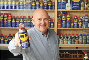 CEO Garry Ridge says WD-40 Co. is coming out with a new product called WD-40 Specialist. It will be just the second product with WD-40 in its name.