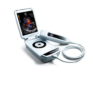 The Vscan by GE Healthcare, which was launched last year, offers doctors a mobile ultrasound device for patient care.