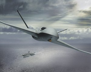 The jet-powered Predator C is the newest unmanned aircraft design from General Atomics Aeronautical Systems Inc.