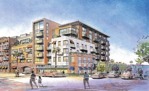 Alliance Residential's Broadstone Little Italy, with 201 apartments in the Little Italy area, is among several local apartment projects in the works.