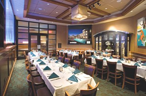 Bistro West restaurant in Carlsbad recently added new meeting facilities that will be used by the adjacent West Inn & Suites hotel.
