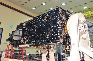 Locally based ViaSat is postponing the launch of its ViaSat-1 satellite until late September due to problems with another satellite launched in May that uses the same basic chassis. The company is expecting big payoffs from its billion-dollar investment in the delivery of broadband Internet services.
