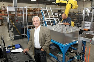 Joe Budano, president and CEO of Energy Innovations, says an Enterprise Zone in North County would help attract and retain clean-tech manufacturers.