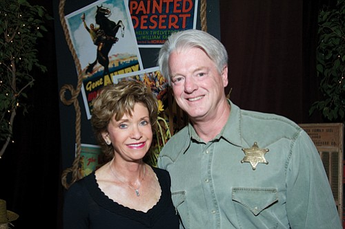 Susan and Bill Hoehn served as honorary chairs for ROMP Roundup, which benefited Ronald McDonald House Charities.