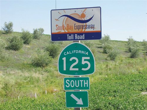Sandag's purchase of the South Bay Expressway toll road is part of a plan to reduce congestion on Interstate 805. The agency is planning to reduce the toll to draw drivers to that part of state Route 125.