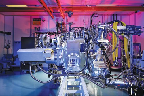 Cymer says it is devoting most of its R&D budget to developing a next-generation light source that uses technology called extreme ultraviolet lithography. It etches circuit patterns onto semiconductor chips such as processors or solid-state drives for computers and many other electronic devices.