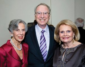 Pauline Foster, left, joined Irwin and Joan Jacobs at the MAGICAL Moments gala.