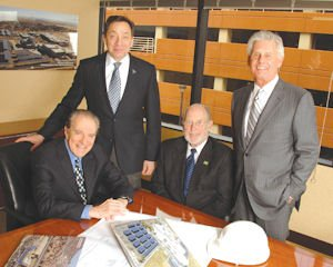 Psomas principals: Louis Kwiker, chairman and chief executive; Albert Nagy, president and chief operating officer; James Hankla, senior vice president, governmental relations president; Paul Mikos, executive vice president, sales and marketing