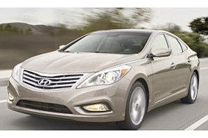 Hyundai Azera: next in line for redesign
