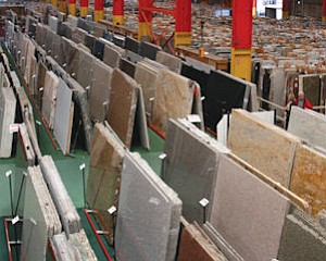 M S International warehouse in Orange: $390 in sales of natural stone products for residential, commercial markets