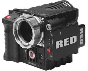 Epic: One of three company cameras customers can use for shooting video-contest entries
