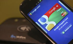 Google Wallet app.