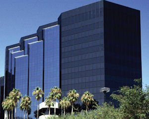 New HQ: bank moved to Irvine Towers from San Diego County