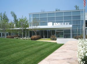 Emulex HQ in Costa Mesa: quickly took lead position in 10-gigabit market