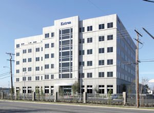 1025 E. Ball: Extron's newly opened headquarters in Anaheim