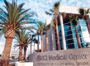 UC Irvine Medical Center: a hub hospital in stroke-victim receiving network
