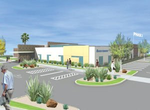 Rendering of Foothill Ranch clinic: 21,531 square feet in first phase