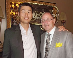 Granting wishes: board members Daniel B. Kim and Joel Solomon co-hosted Make-A-Wish fundraiser