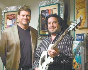 Music: Bryan Bradley (left) and Ron Manus.