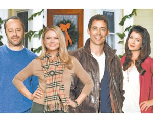 show cast of debbie macombers trading christmas a ratings winner for crown - Debbie Macomber Trading Christmas