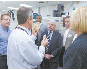 Aerospace: Northrop lets the public tour its expansive Woodland Hills campus.