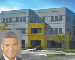 Space: Chatsworth office building purchsed by contract manufacturer CBOL Corp.  Inset:  Dan Sanchez