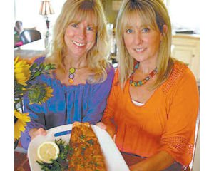 Stonefire Grill co-founders Maureen and Mary Harrigan.