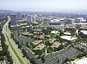 San Joaquin Plaza: five low-rise buildings could give way to 524 apartments