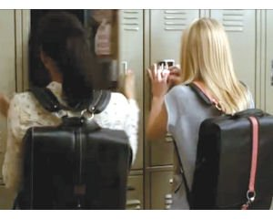 Glee backpacks: designed in Anaheim