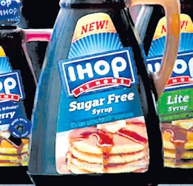 Flavors: IHOP Syrup comes in lite and sugar free.
