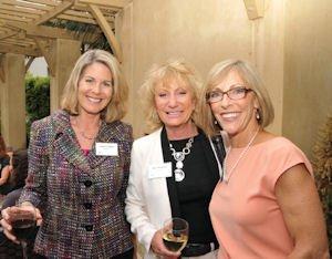 Sponsors: Tarbox, Shepherd with Impact Giving board chair Wilson