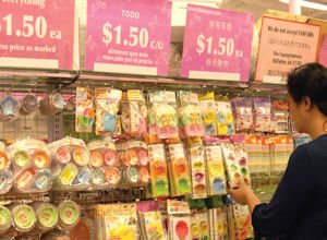 Daiso: discounter aims for wealthier households in multiple languages