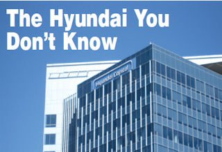 Park Place placard: Hyundai Capital's headquarters in Irvine is just a few miles from the two auto brands it serves