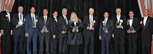 Honorees: awarded at annual event, which honors companies for various qualities, including leadership