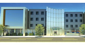 Modern: The Ventana medical office complex is under review by the City of Los Angeles. Completion is scheduled for 2014.