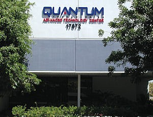 17872 Cartwright Road: Irvine headquarters, which Quantum hopes to consolidate into its Lake Forest operations
