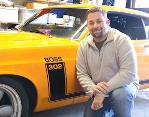 "Media: Auto Enthusiast Dan Kahn broadcasts ""Cars for a Living"" podcast."