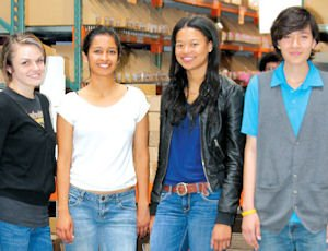Hire: High school students gain work expereince at REM Eyewear's Valley facility.