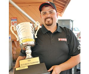 Alberto Ortiz, named the Best PODS Driver in the Country