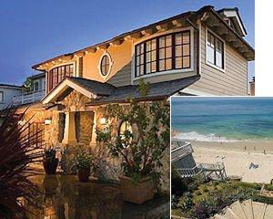 765 Gaviota: has private steps to the beach, custom-built with light hardwood and Pennsylva oak floors