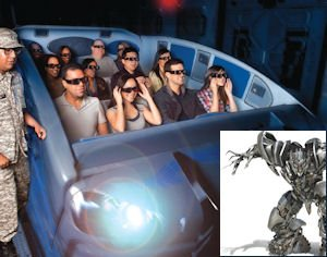 Expansion: 'Transformers' ride second new ride in three years.