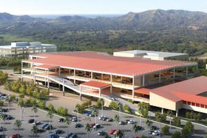 Project: A rendering showing the planned Regional Intermodal Tranportation Center at Bob Hope Airport in Burbank.