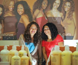 Hair: Deal with Target gets product to consumers faster, said Wendi Levy (left).