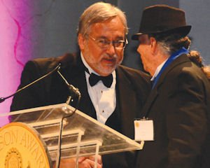 Honor: Ed Rose, founder of MEND, receivd the Onassis Award for Public Service.