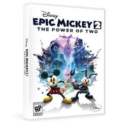 Game: Epic Mickey 2 touted at Comic-Con 2012.