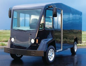 Design: The DV-500 model delivery van made by Boulder Electric Vehicle.