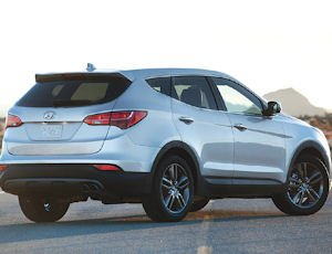 Santa Fe: crossover model redesigned for 2013