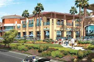 Early rendering: for commercial portion of 31-acre mixed-used development